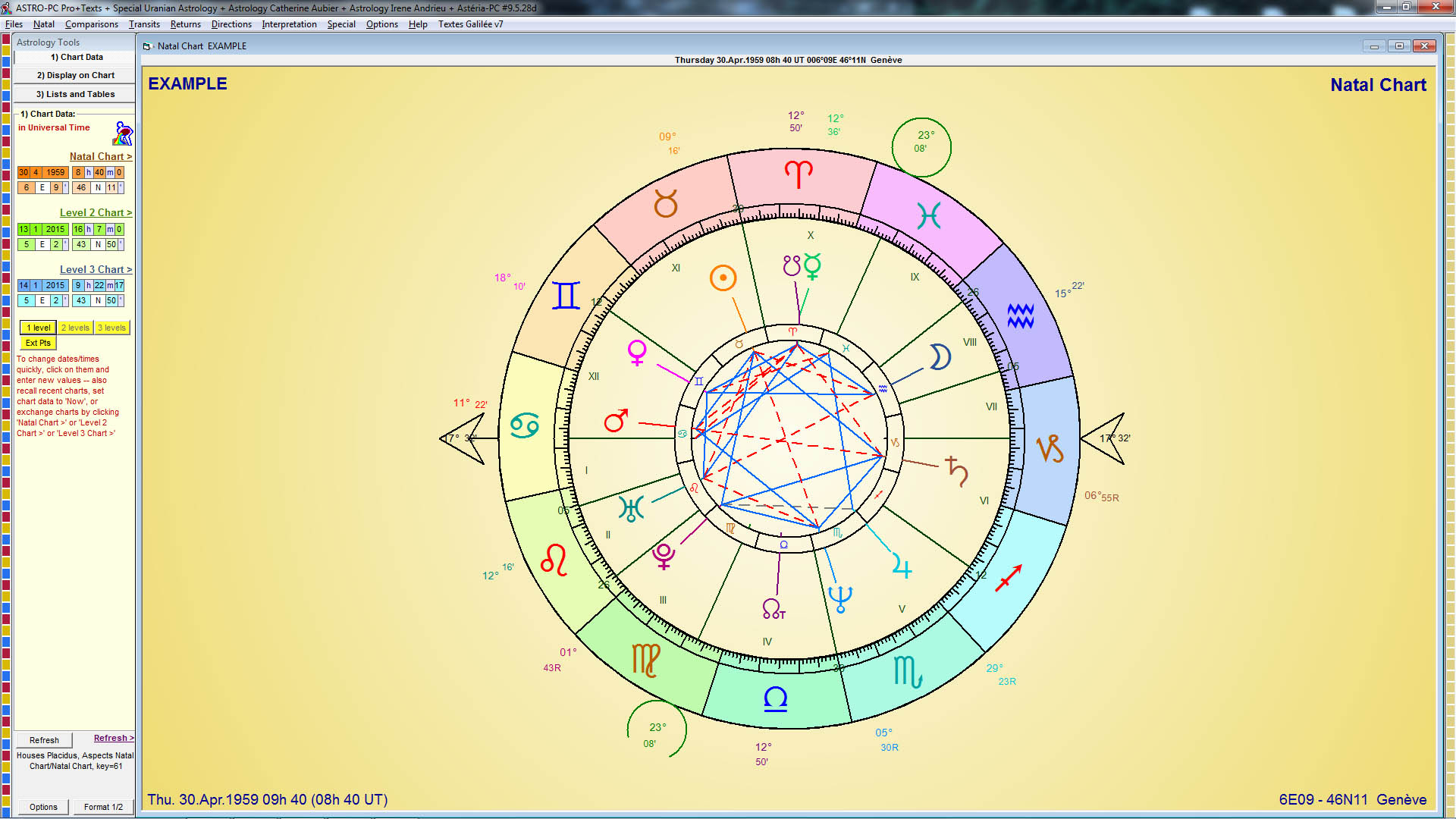 Aureas software astrology programs similarly the background of the signs may be displayed without color transparent with a solid color or with a color gradient example nvjuhfo Images