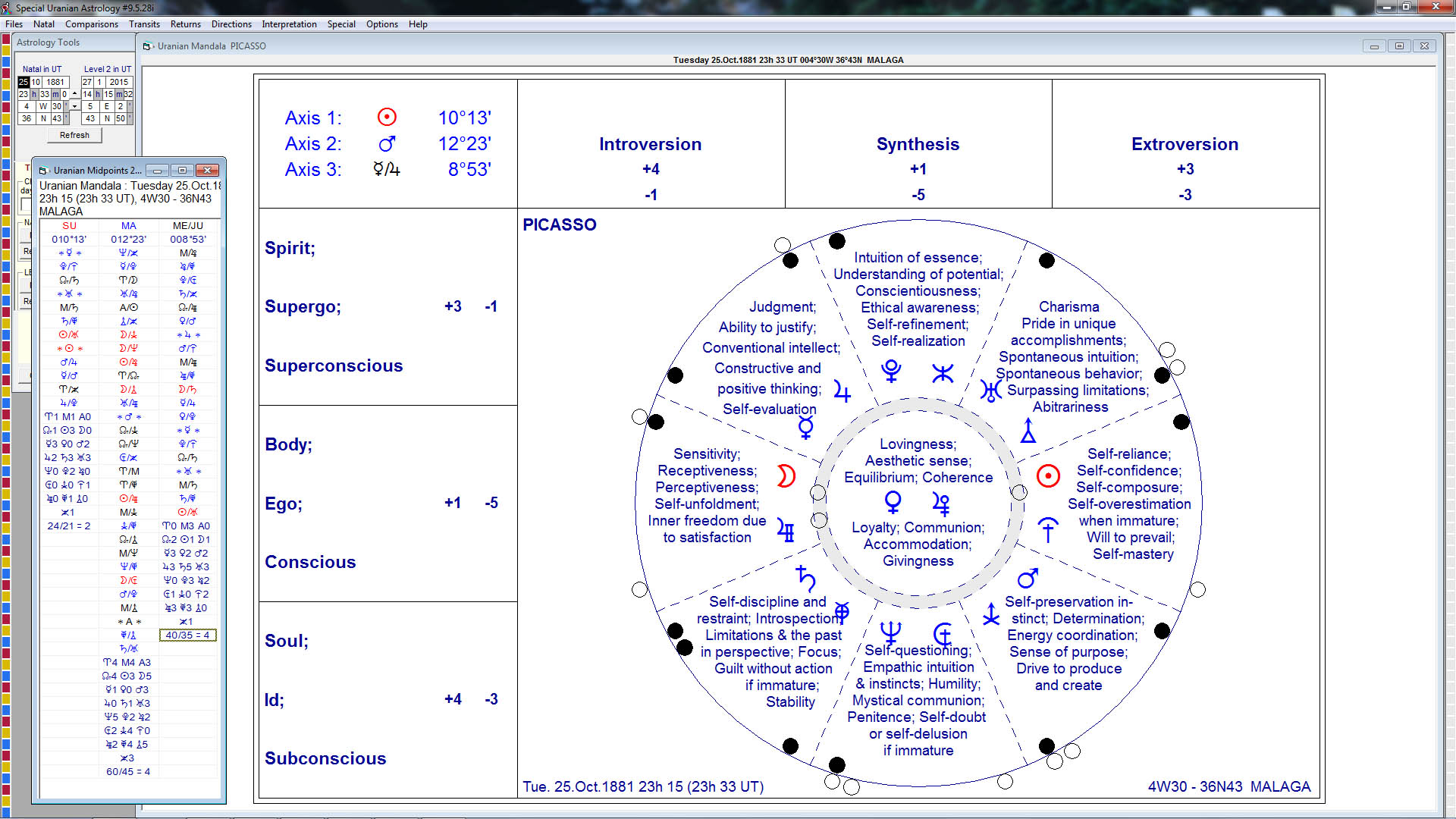 Aureas software astrology programs uranian mandala nvjuhfo Gallery
