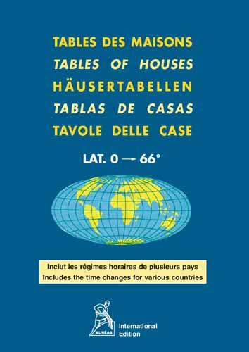 Tables des maisons